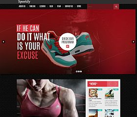 Sportify WordPress Theme by TeslaThemes