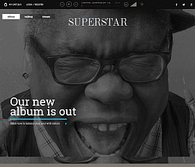 Superstar WordPress Theme by TeslaThemes
