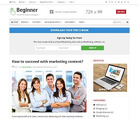 Beginner WordPress Theme by Theme Junkie