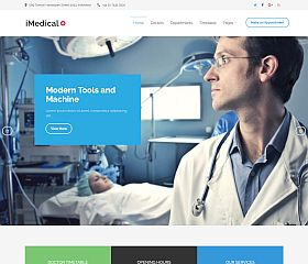 iMedical WordPress Theme by Theme Junkie