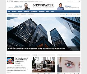 Newspaper WordPress Theme by Theme Junkie