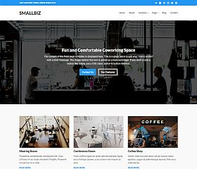 SmallBiz WordPress Theme by Theme Junkie