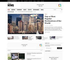TrueNews WordPress Theme by Theme Junkie