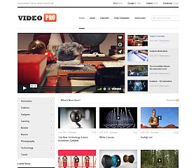 VideoPro WordPress Theme by Theme Junkie