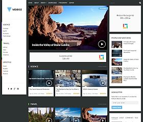 VideoZ WordPress Theme by Theme Junkie