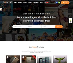 AdForest WordPress Theme via ThemeForest