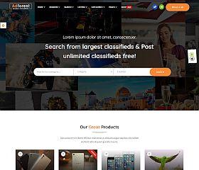AdForest WordPress Theme via ThemeForest