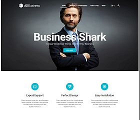 All Business WordPress Theme via ThemeForest