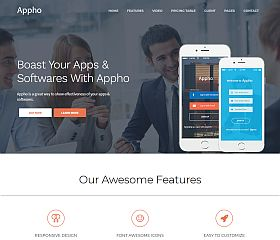 Appho WordPress Theme via ThemeForest