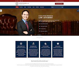 Attorney & Lawyer WordPress Theme via ThemeForest
