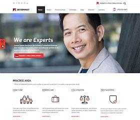 Attorney WordPress Theme via ThemeForest