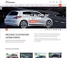 Auto Stars WordPress Theme via ThemeForest
