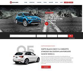 AutoMobile WordPress Theme via ThemeForest