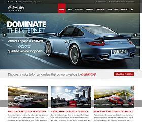 Automotive Car Dealership WordPress Theme via ThemeForest