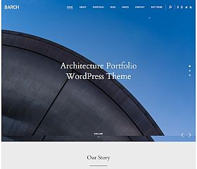 Barch WordPress Theme via ThemeForest