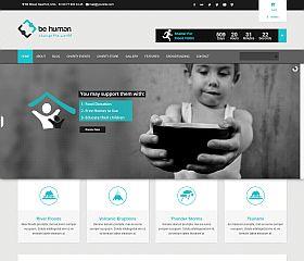 Be Human WordPress Theme via ThemeForest