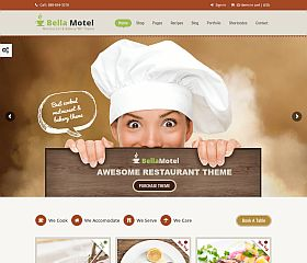 Bella Recipe WordPress Theme via ThemeForest