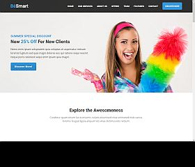 BeSmart WordPress Theme via ThemeForest