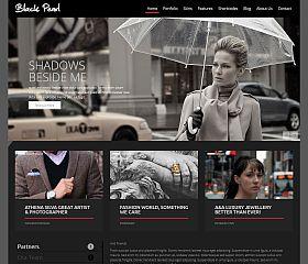 Black Pearl WordPress Theme via ThemeForest