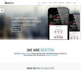 Boston WordPress Theme via ThemeForest