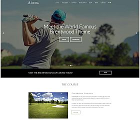 Brentwood WordPress Theme via ThemeForest