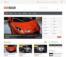 Car Dealer WordPress Theme via ThemeForest