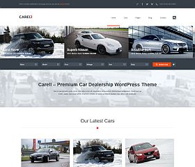 Carell WordPress Theme via ThemeForest