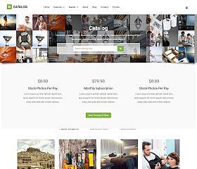 Catalog Photostock WordPress Theme via ThemeForest
