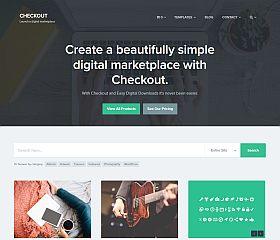 Checkout WordPress Theme via ThemeForest