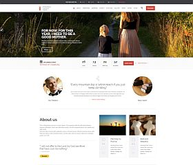 Church and Events WordPress Theme via ThemeForest