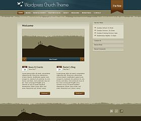 Church WordPress Theme via ThemeForest