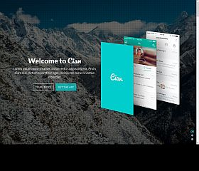Cian WordPress Theme via ThemeForest