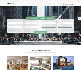 CitiLights WordPress Theme via ThemeForest