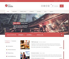 City Guide WordPress Theme via ThemeForest
