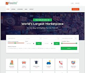 Classiads WordPress Theme via ThemeForest