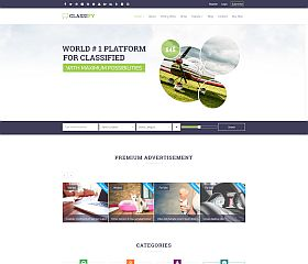 Classify WordPress Theme via ThemeForest