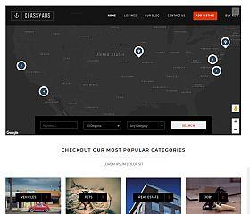 ClassyAds WordPress Theme via ThemeForest