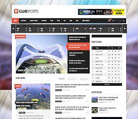 Club Sports WordPress Theme via ThemeForest