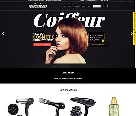 Coiffeur WordPress Theme via ThemeForest