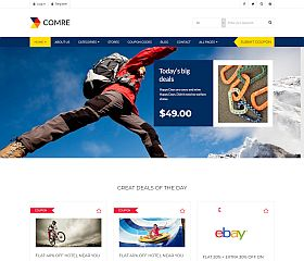 Comre WordPress Theme via ThemeForest
