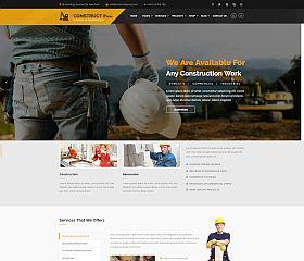 Construct Press WordPress Theme via ThemeForest