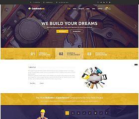 Constructent WordPress Theme via ThemeForest