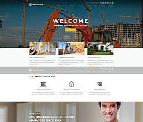 Construction WordPress Theme via ThemeForest