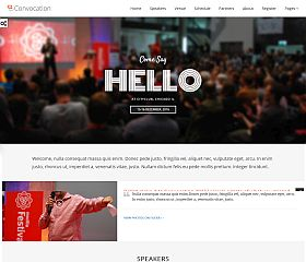Convocation WordPress Theme via ThemeForest