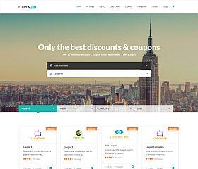 Couponer WordPress Theme via ThemeForest