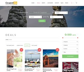CouponHut WordPress Theme via ThemeForest