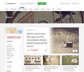 Coupon XxL WordPress Theme via ThemeForest