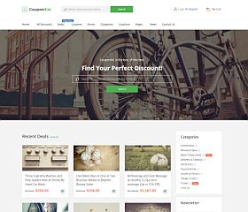 CouponXxL WordPress Theme via ThemeForest