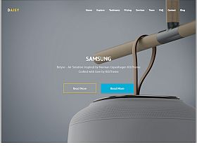 Daisy WordPress Theme via ThemeForest