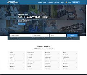 Directory Multi-Purpose WordPress Theme via ThemeForest